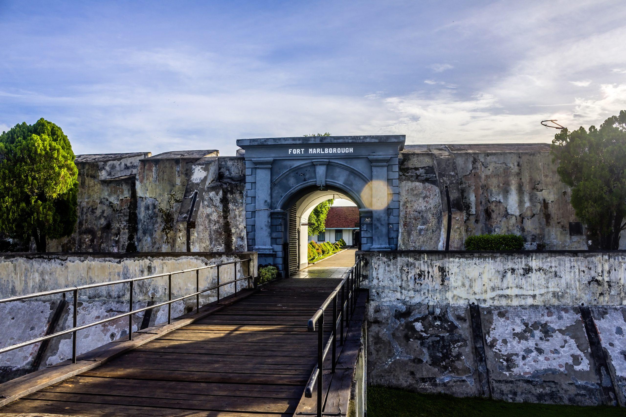 Benteng Marlborough di Palembang