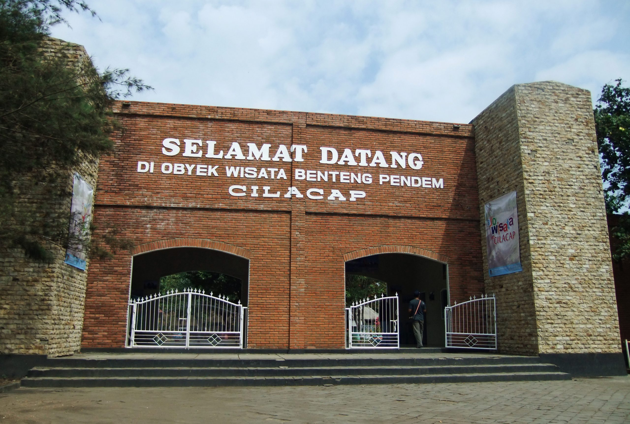 Benteng Pendem di Cilacap