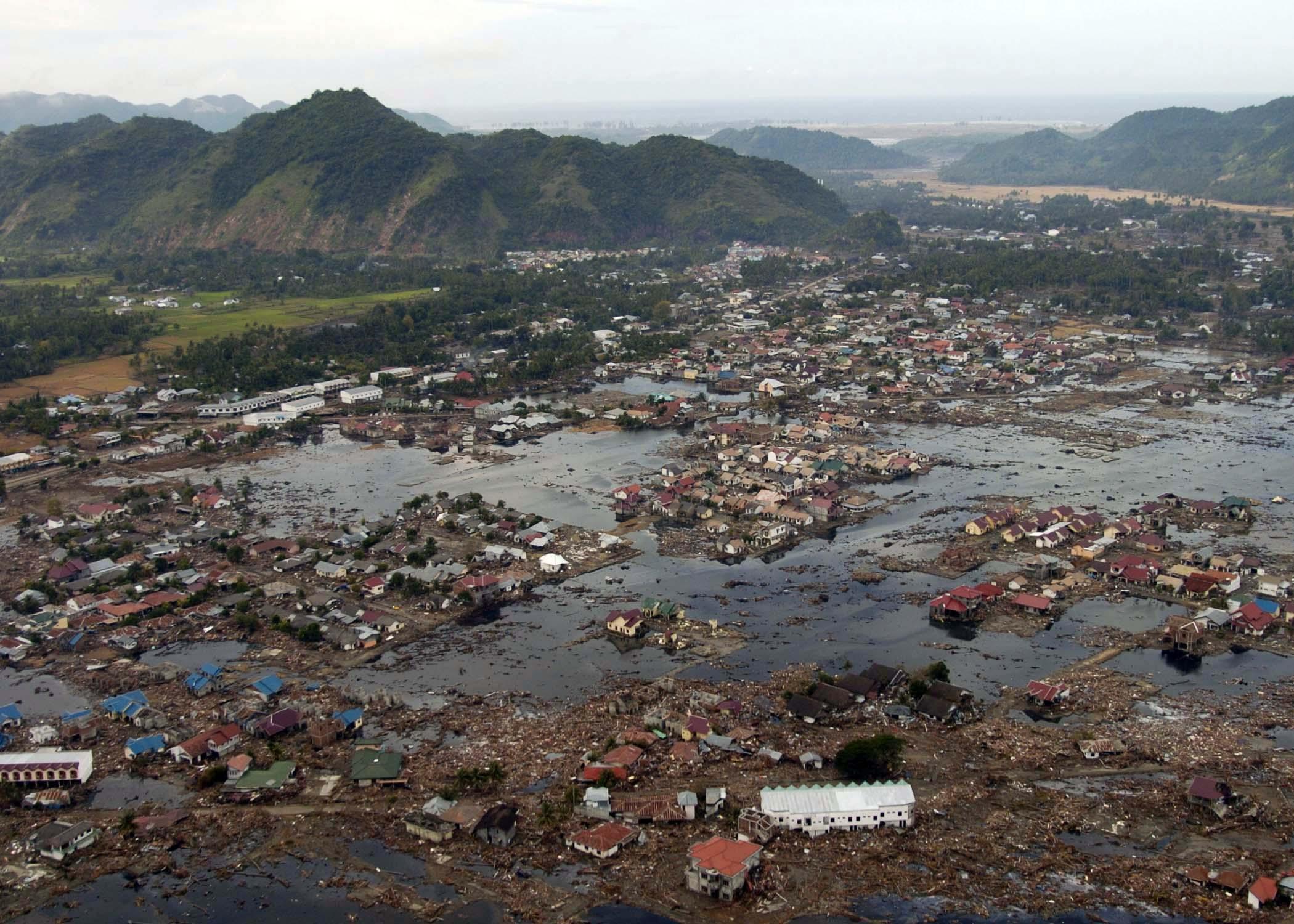 Gempa bumi dan tsunami di Samudera Hindia pada tahun 2004.