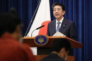 Perdana Menteri (PM) Jepang, Shinzo Abe