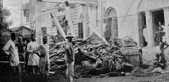 Topan Calcutta tahun 1737.