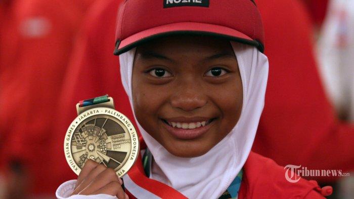 Atlet termuda dan tertua peraih medali Asian Games 2018