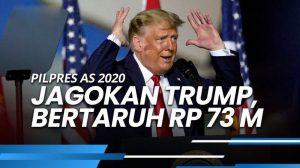Seorang Pengusaha Inggris Bertaruh Sebesar Rp 73 Miliar Untuk Kemenangan Trump