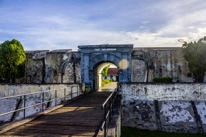 Benteng Marlborough di Palembang